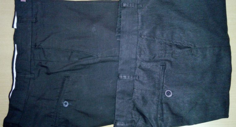 2 Formal Pants for Donation (Siz 34)