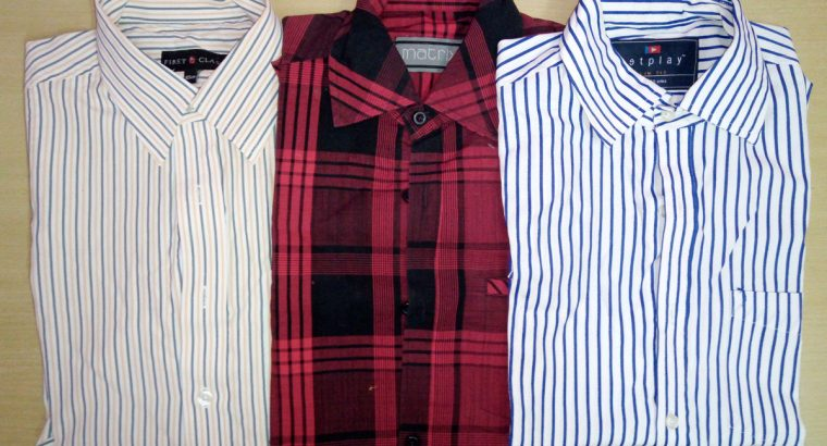 3 Shirts to donate (Size L)